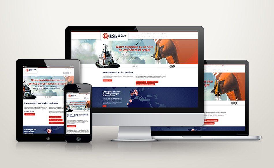 ergonomie site web responsive Boluda